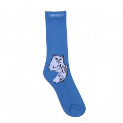 CHAUSSETTES RIPNDIP LORD NERMAL - BABY BLUE