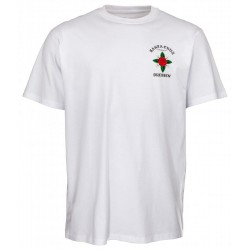 T-SHIRT SANTA CRUZ DRESSEN ROSE KIT - WHITE