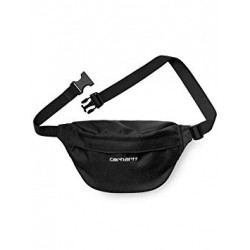 BANANE CARHARTT WIP PAYTON HIP BAG - BLACK WHITE