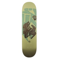 BOARD MAGENTA GLEN FOX CHAIR AND BOTTLE - 8.125
