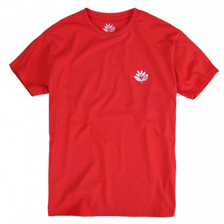 T-SHIRT MAGENTA CLASSIC PLANT - RED