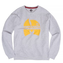 SWEAT MAGENTA WUGENTA CREWNECK - HEATHER GREY