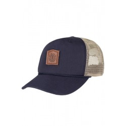 CASQUETTE ELEMENT WOLFEBORO TRUCKER - ECLIPSE NAVY