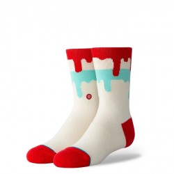 CHAUSSETTES STANCE KIDS DRIPPING POPSICLE - CREAM