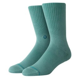CHAUSSETTES STANCE UNCOMMON SOLIDS ICON - SEAGREEN