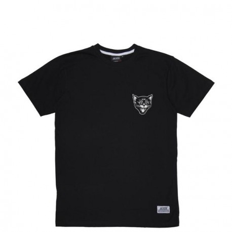 T-SHIRT JACKER BLACK CATS - BLACK