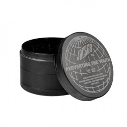 GRINDER JACKER GLOBAL PERVERSION 60MM - BLACK