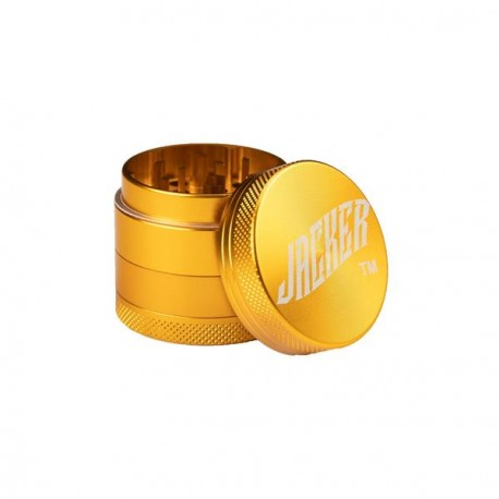 GRINDER JACKER PERVERT LOGO 40MM - GOLD