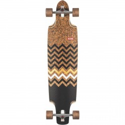 "LONGBOARD GLOBE SPEARPOINT 40"" - CORK ZAGGED"