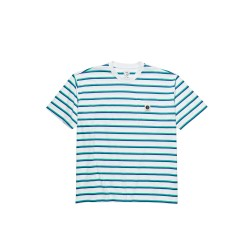 T-SHIRT POLAR STRIPE POCKET - WHITE
