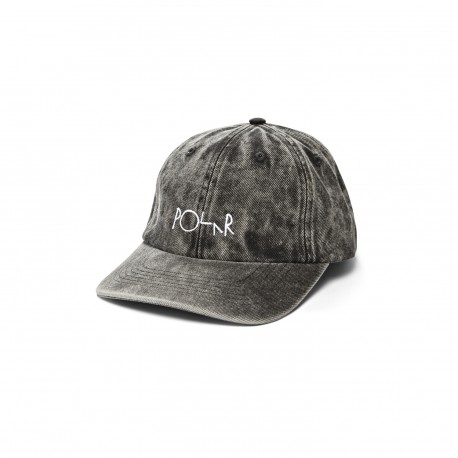 CASQUETTE POLAR DENIM CAP - BLACK ACID