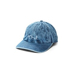 CASQUETTE POLAR DENIM CAP - BLUE ACID