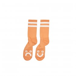 CHAUSSETTES POLAR HAPPY SAD - ORANGE