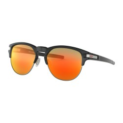LUNETTES OAKLEY LATCH KEY MATTE BLACK INK / PRIZM RUBY