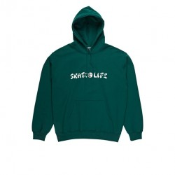 SWEAT POLAR SKATELIFE - GREEN