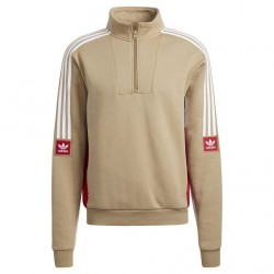 SWEAT ADIDAS MODULAR FLC 2 - HEMP WHITE