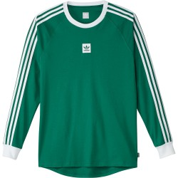 T-SHIRT ADIDAS CALI BB LS - GREEN WHITE