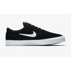 CHAUSSURES NIKE SB CHRON SOLARSOFT - BLACK/WHITE