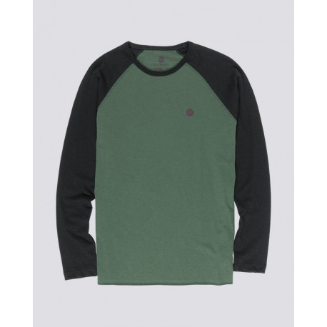 T-SHIRT ELEMENT BLUNT LS - OLIVE DRAB