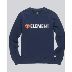 SWEAT ELEMENT BLAZIN CREW BOY - ECLIPSE NAVY