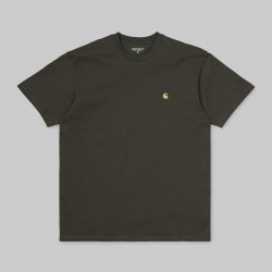 T-SHIRT CARHARTT WIP CHASE - CYPRESS