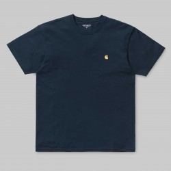 T-SHIRT CARHARTT WIP CHASE - DUCK BLUE