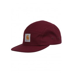 CASQUETTE CARHARTT WIP BACKLEY - COTTON MERLOT