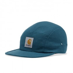 CASQUETTE CARHARTT WIP BACKLEY - COTTON PRUSSIAN BLUE