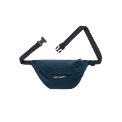 BANANE CARHARTT WIP PAYTON HIP BAG - DUCK BLUE WHITE