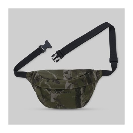 BANANE CARHARTT-WIP PAYTON HIP BAG - CAMO TREE GREEN BLACK