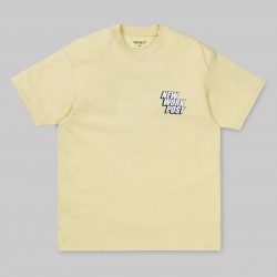 T-SHIRT CARHARTT WIP POST - PALE YELLOW
