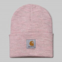 BONNET CARHARTT ACRYLIC WATCH HAT - BLUSH HEATHER