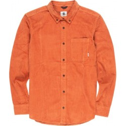 CHEMISE ELEMENT LUMBER CORD LS - GINGER BREAD