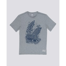T-SHIRT ELEMENT FIND WATER - HEATHER GREY