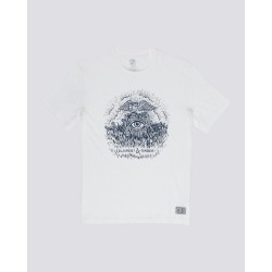 T-SHIRT ELEMENT TOO LATE STUMP BOY - ECRU OFF WHITE