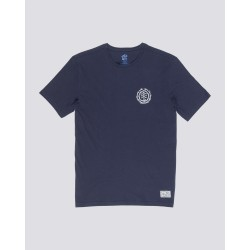 T-SHIRT ELEMENT TOO LATE LOGO BOY - ECLIPSE NAVY