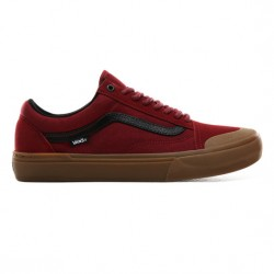 CHAUSSURES VANS OLD SKOOL PRO BMX - BIKING RED GUM
