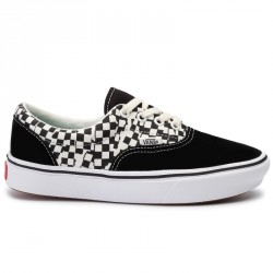 CHAUSSURES VANS COMFYCUSH ERA - TEAR CHECK BLACK TRUE WHITE