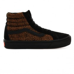 CHAUSSURES VANS SK8-HI COMFYCUSH - TINY CHEETAH BLACK