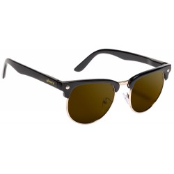 LUNETTES GLASSY MORRISON - BLACK BROWN LENS