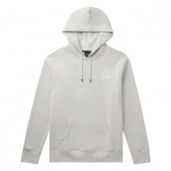 SWEAT HUF DYSTOPIA HOOD - LIGHT GREY