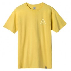 T-SHIRT HUF ESSENTIALS TRIPLE TRIANGLE SS - SAUTERNE