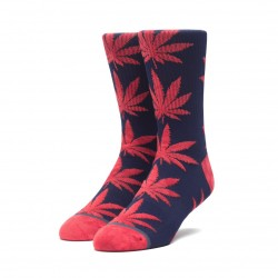 CHAUSSETTES HUF TIE-DYE LEAVES PLANTLIFE - DARK NAVY