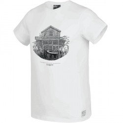 T-SHIRT PICTURE ORGANIC LOREM D&S - WHITE
