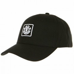 CASQUETTE ELEMENT TREELOGO BOY CAP - FLINT BLACK WHITE