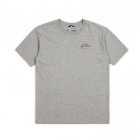 T-SHIRT BRIXTON CINEMA SS STT - HEATHER GREY