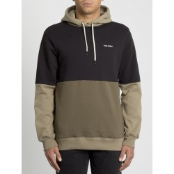 SWEAT VOLCOM SINGLE STONE DIV HOODIE - MILITARY
