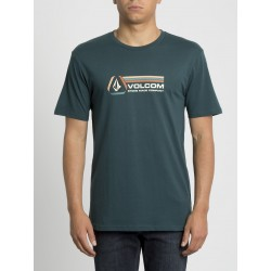 T-SHIRT VOLCOM DESCENT BSC SS - EVERGREEN