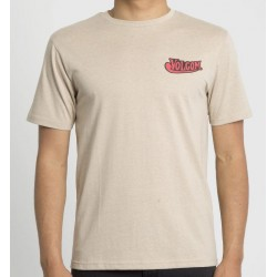 T-SHIRT VOLCOM GLORIOUS BEER HTH SS - OAT
