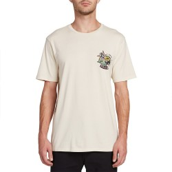 T-SHIRT VOLCOM PARTY BIRD SS - WHITE FLASH